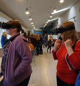 Informacinės technologijos sužavėjo I.Simonaitytės bibliotekos lankytojus