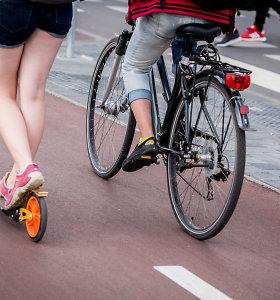 Europos judumo savaitė skatina išlipti iš automobilio: mūsų kūnai skirti judėjimui