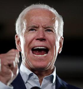 Joe Bidenas turi paskelbti apie savo kandidatavimą 2020-ųjų JAV prezidento rinkimuose