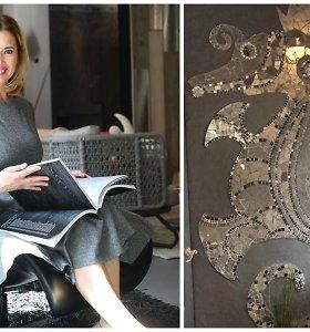 """Namus parduodanti Gintarė Karaliūnaitė palieka pačios kurtas mozaikas: """"Atėjo laikas pokyčiams"""""""
