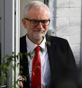 JK Leiboristų partijos nariai renka pamainą savo lyderiui Jeremy Corbynui