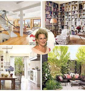 Bette Midler parduoda Niujorke stūksančius apartamentus: už 14 kambarių namus prašo 45 mln. eurų