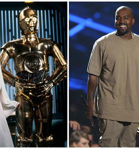 """Kanye Westas atkurs legendinius """"Žvaigždžių karų"""" džedajų namus: idėja kilo vardan kilnaus tikslo"""