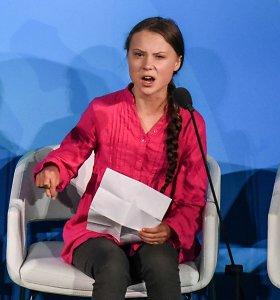 Psichiatras J.Hilbigas paaiškino, kaip pasireiškia Gretai Thunberg diagnozuoti psichikos sutrikimai