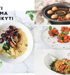 """3 receptai iš knygos """"Valgyti negalima susilaikyti"""": svogūnų sriuba, aštrūs lęšiai ir daržovių troškinys"""