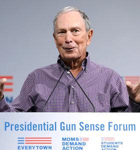 M.Bloombergas oficialiai pranešė sieksiąs prezidento posto