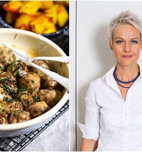 Nidos receptas: naminiai švediški mėsos kukuliukai