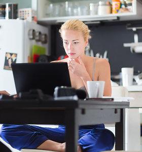 Naujoji lietuvių realybė: kaip dirbti iš namų?