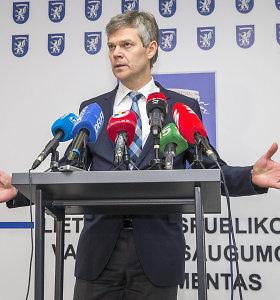 VSD direktorius Darius Jauniškis: pranešėjas prisipažino pats