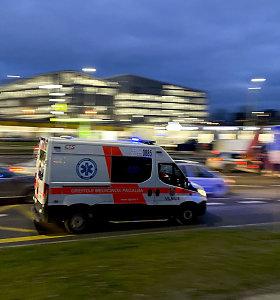 """Vilniuje """"Toyota"""" vairuotojas nubloškė dviratininkę, kurios nepastebėjo"""