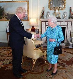 JK premjeras B.Johnsonas informavo karalienę apie parlamento paleidimą