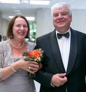 """Buvęs viceministras Rimantas Vaitkus po metų pažinties vedė antrąkart: """"Kad ir 60 – myli taip pat"""""""