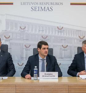 """R.Žemaitaitis, A.Zuokas ir A.Paulauskas kartu vadinsis """"Laisve ir teisingumu"""" ir naudos muškietininkų šūkį"""