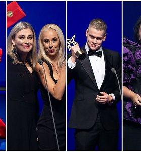 """""""Žmonės 2020"""" apdovanojimai: skaudūs pokštai, dviguba D.Rapšio pergalė ir savikritiška Alytaus mero kalba"""