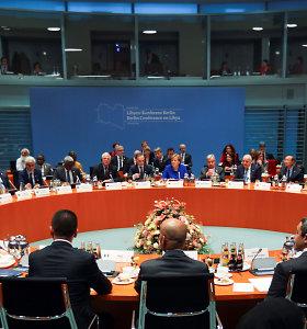 JT vadovas paragino užtikrinti efektyvų ir kontroliuojamą ugnies nutraukimą Libijoje