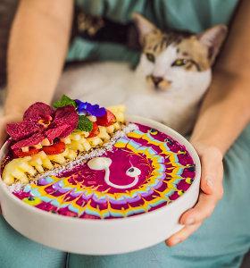 Laimingas maistas: ką valgyti, norint jaustis gerai