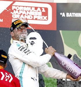 """""""Formulės 1"""" lenktynių Japonijoje akimirkos"""