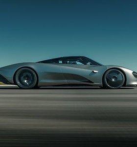 """Pirmasis """"McLaren Speedtail"""" pas pirkėją iškeliaus jau vasarį"""