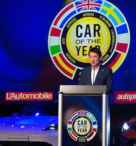 """""""Europos metų automobilis 2020"""" – """"Peugeot e-208"""""""