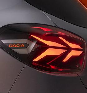 "Elektromobilis ""Dacia Spring"""