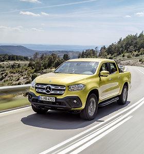 """""""Mercedes Benz"""" X klasė - naujas pikapas"""