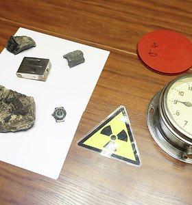 """Nustatyta, kad Tauragės miške rastas konteineris su užrašu """"radiacija"""" – neradioaktyvus"""