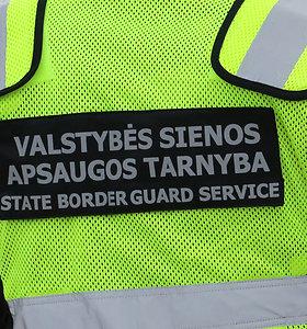 VSAT pareigūnai demaskavo kontrabandą vežusį pasienietį