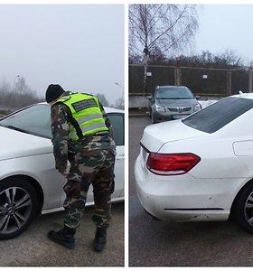 """Lietuvos pareigūnai baltarusiui nesvetingi: iš prabangaus """"Mercedes"""" – į niūrią areštinę"""