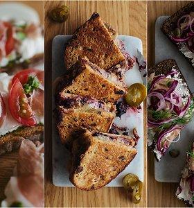 Maisto tinklaraštininkė papasakojo apie duoną su raugu ir pasidalijo 3 sumuštinių receptais