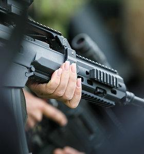 Krašto apsaugos ministras Seimo vadovybei pristatė galimą karių siuntimą į Siriją