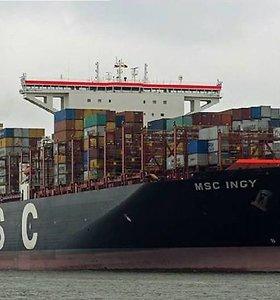 Klaipėdoje laukiama neregėto laivo-milžino