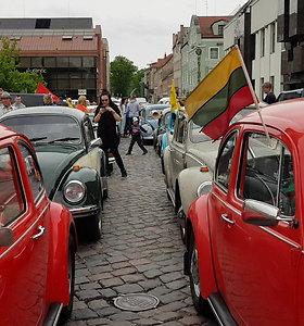 """Laivų parado svečiai – VW """"vabalai"""""""