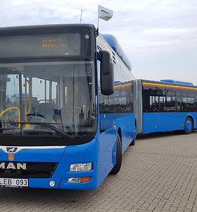Klaipėdos gatvėmis riedės nauji ekologiški autobusai: vairuotojai turės pūsti į alkotesterį