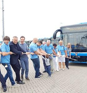 Į Klaipėdos gatves išrieda ekologiški autobusai: veiks bevielis internetas