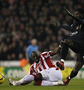 """""""Manchester City"""" vienuolikė Anglijos čempionate pakilo į didįjį ketvertą (nuotraukos)"""