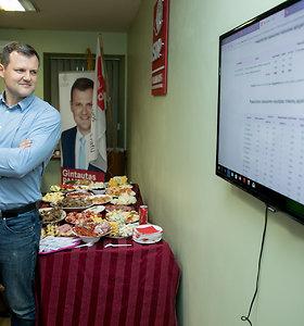 Gintauto Palucko rinkimų štabe