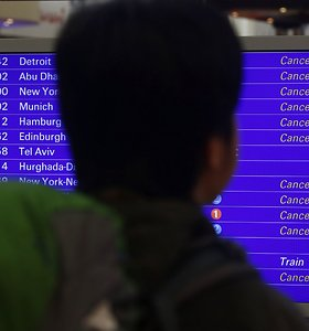 Belgijos skrydžių kontrolieriai netikėtai paskelbė streiką