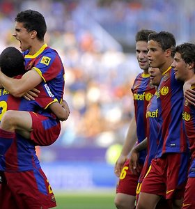 """""""Real"""" ir """"Barcelona"""" Ispanijos čempionatą baigė pergalėmis"""