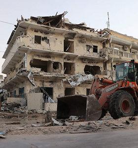 Somalyje atakos viešbutyje aukų padaugėjo iki 26