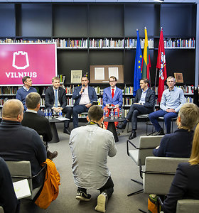 Kandidatų į Vilniaus merus vizijos ateičiai: nemokamas viešasis transportas ir vanduo