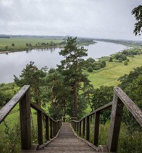 Rambyno regioninis parkas: tolumoje išnyrantys Tilžės bokštai
