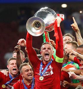 """Čempionų lygos finale triumfavo """"Liverpool"""""""