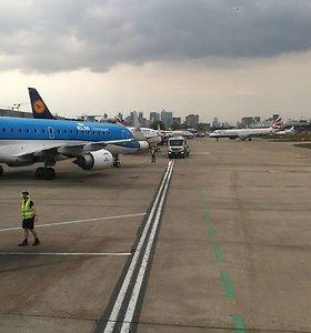 """LOT Polish Airlines"" Londonos Sičio oro uoste"