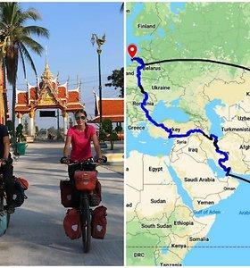 Įmanoma absoliučiai viskas: dviračiais – iš Lietuvos į Pietryčių Aziją
