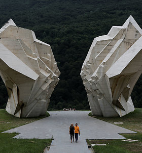 Jugoslavijos brutalizmo architektūra žavi instagramo kartą