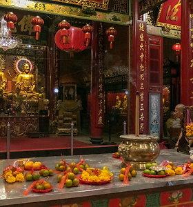 Bankoko kinų kvartale – lervų užkandžiai ir gryno aukso Buda