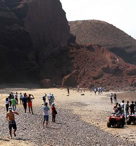 Legziros paplūdimys Maroke: prieš ir po