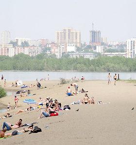 Neįprastai karštas pavasaris Sibire