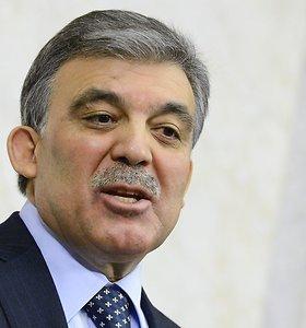 Į Lietuvą atvyks Turkijos prezidentas Abdullah Gulas