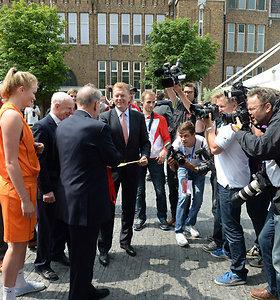 Jaques Rogge'o apsilankymas olimpiniame festivalyje Ultrechte